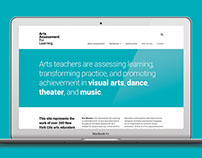Arts Assessment for Learning Website Development