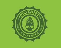 Mutant Craft Beer concept