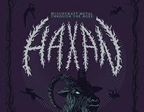 Häxan - Afiche de Evento
