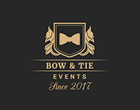 Logo Design - Bow & Tie