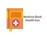 Medicine Book Health Icon