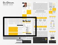 Bond Dickinson UI/UX - Web