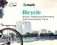 Bicycle Responsive eCommerce Cycle Store Shopify Theme