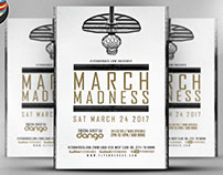 March Madness Basketball Flyer Template v2