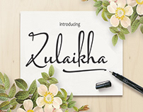 zulaikha script font