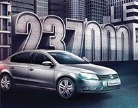 VW Passat - Pres ad.