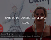 CAMBRA DE COMERÇ DE BARCELONA - Show video