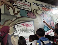 Graffiteach, teaching street kids trough graffiti art