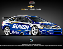 2016 Chevrolet New Cruze Super TC2000: Recreación