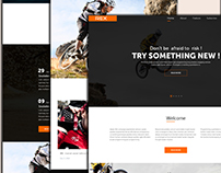 Responsive Template Landing Page