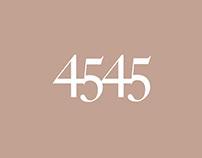 4545 Architecture Branding
