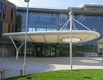 PTFE / ETFE Ambulance Drop Off Canopy