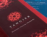 T A N G I E R - Moroccan Restaurant Identity
