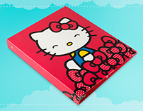 Hello Kitty Reinforced 3-Ring Marketing Binder