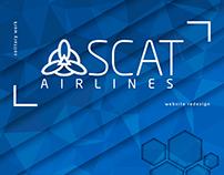 """Website """"SCAT"""", Web-design, redesign of website"""