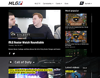 MLG.tv - Redesign Concept