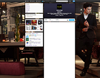 """Twitter Cover for """"YELLOW"""" Fashion Brand"""