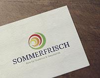 Logo et carte de visite Sommerfrisch (2017)