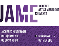 JAME Jochebed Artist Management   Events logo