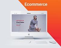E commerce Website Landing Page