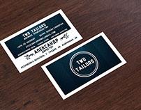 Дизайн визитки для швейного производства Two Tailors