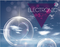 Club Party Flyer • Electronic Night