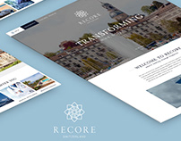 Website Luxury treatment & Rehab center / UI/UX
