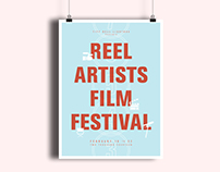 REEL Artists Film Festival Poster