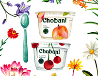 Chobani * The Giving Tree* Illustration