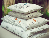 Illustrations for Ndoto textile - The forest collection