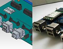 Remote Terminal Unit . Model 3D design. e-minds