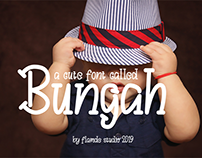 Bungah Typeface | Free For Personal Use