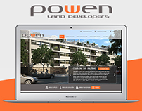 New Responsive website - Powen Land developers