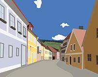 Český Krumlov Street
