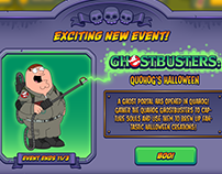 Family Guy: the Quest for Stuff Event UI