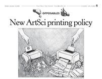 Student Life Editorial Cartoons + Illustrations