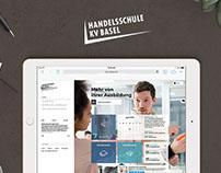 HKV Basel Redesign Webconcept