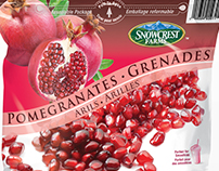 Snowcrest Farms Frozen Fruit Fruit Poly Bag Designs
