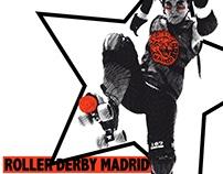 Roller derby event artwork #2
