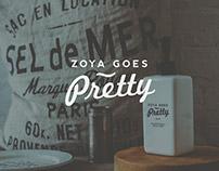 Zoya Goes Pretty Brand Identity