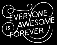 Everyone Is Awesome Forever logo