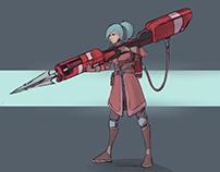 Double sided gun