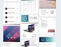Dashboard UI Kit / Galaxy Mood