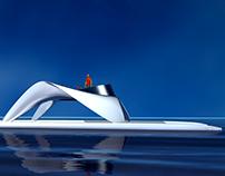 Catamaran Glider SS18 redesign. Option 3.
