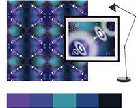 Design for textile. Patterns for design competition