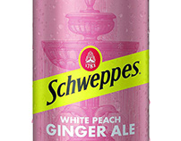 Schweppes Packaging Labels Illustrated by Steven Noble