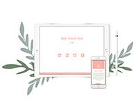 Responsive web design/development: Personal Website