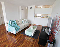 Residential Staging_2121 Ala Wai Blvd Honolulu, Hawaii