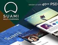 Suami - Multiprpose App Template