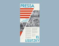 Landmark Poster PRESSA by El Lissitzky
